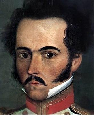 Simón Bolívar - Bolívar in 1812