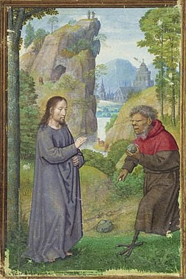 Simon Bening - The Temptation of Christ