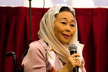 Sinta Nuriyah during the International Conference on Feminism, 2016-09-23 02.jpg