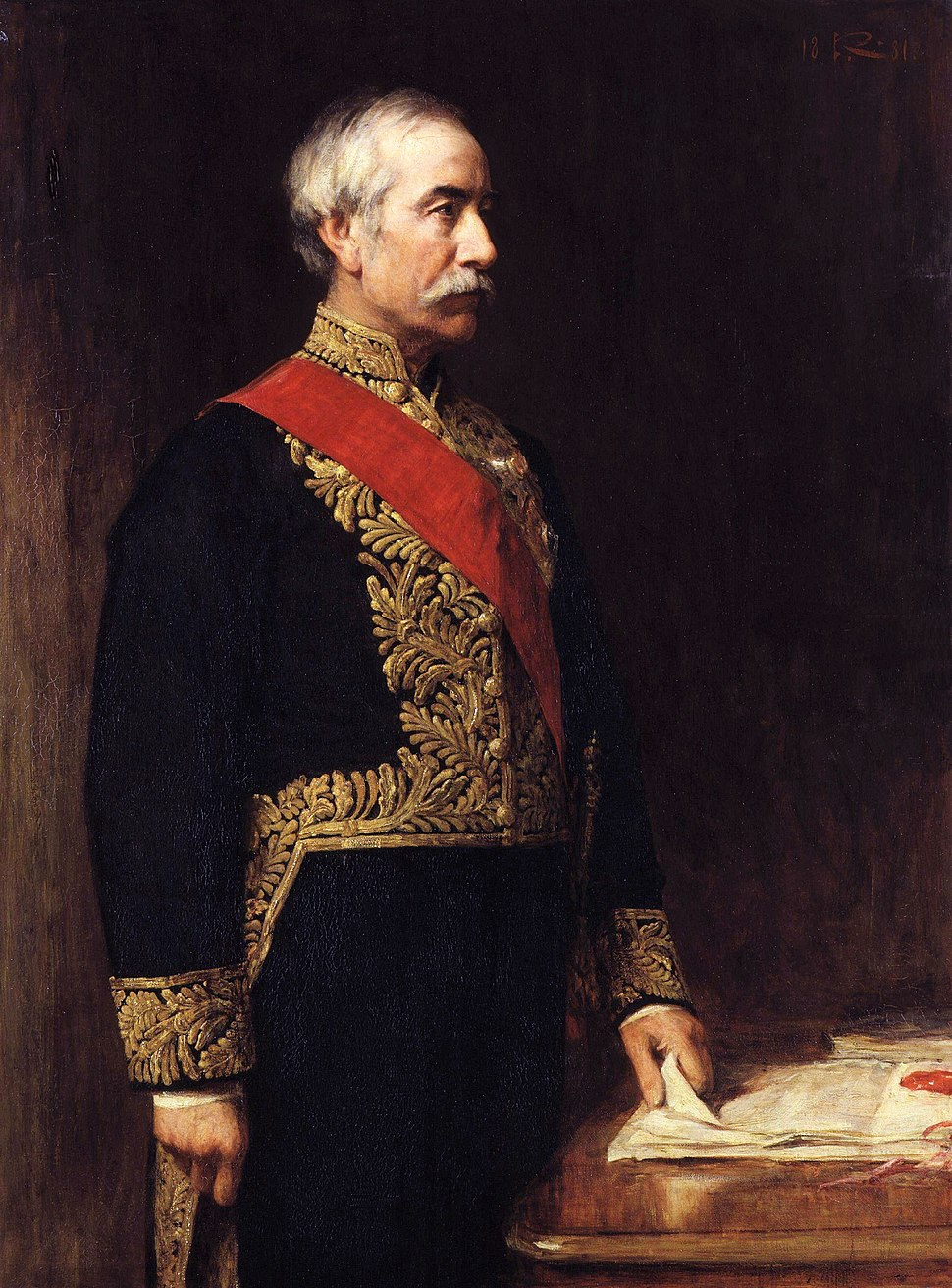 Sir (Henry) Bartle Frere, 1st Bt by Sir George Reid