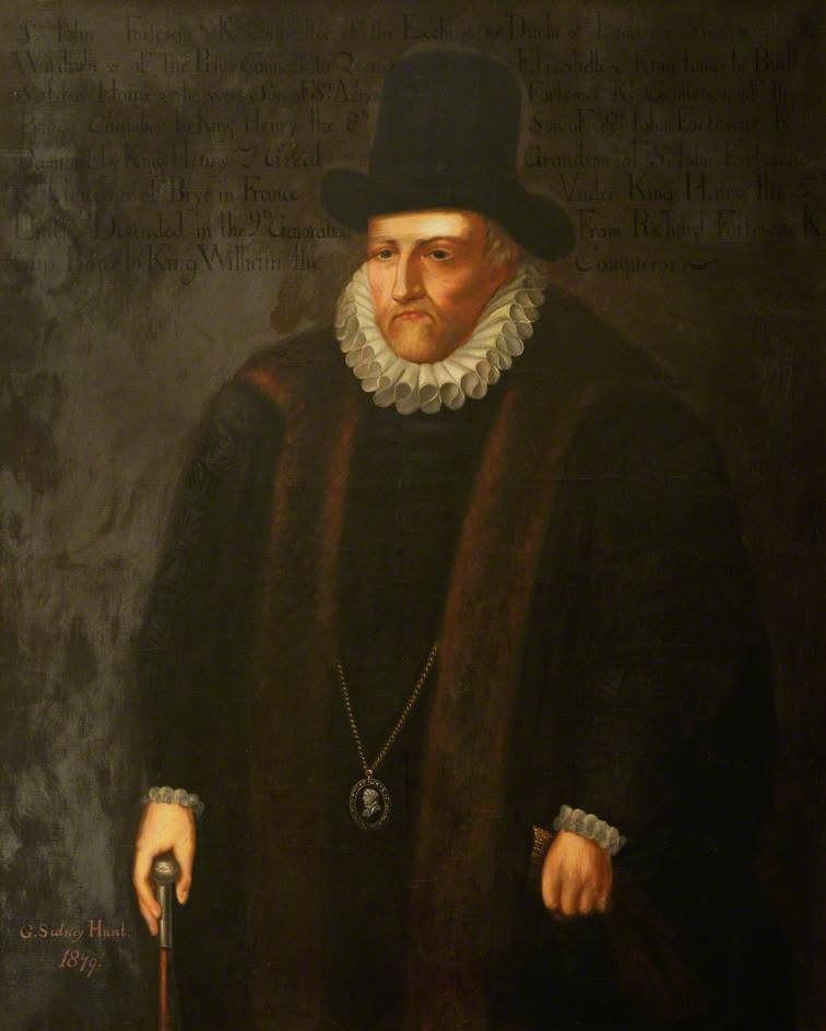Sir John Fortescue by Sidney Hunt
