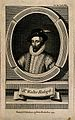 Sir Walter Raleigh. Line engraving, 1755, after J. Houbraken Wellcome V0004884EL.jpg