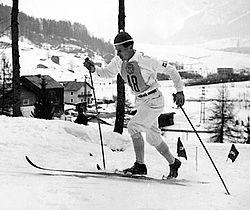 Sixten Jernberg under OS i Innsbruck 1964.