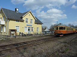 Klippeøflad station.