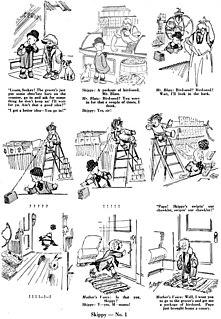 <i>Skippy</i> (comic strip) 1923-1945 American comic strip