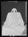 Släp till kröningsklänning, en s. k. robe de cour, Sofia Magdalena, 1772 - Livrustkammaren - 28357.tif