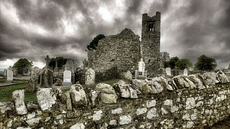 Be Thou My Vision - Church ruins on Slane Hill