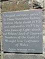 Slate plaque, Dinas Mawddwy - geograph.org.uk - 554042.jpg