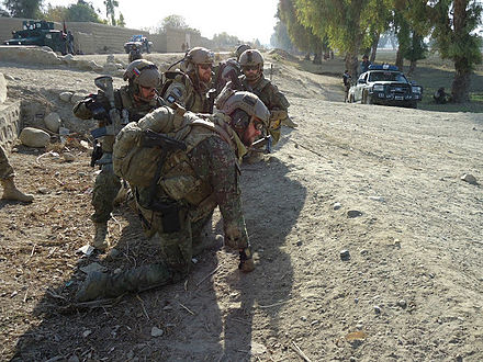 Slovak 5th Special Forces Regiment operating in eastern Afghanistan Slovak Army 5th Special Forces Regiment in Afghanistan2.jpg