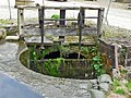Sluice gate at Arkwright's Mill, Cromford - geograph.org.uk - 1155669.jpg