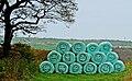 Smiling silage bales, Swales Moor Road.jpg