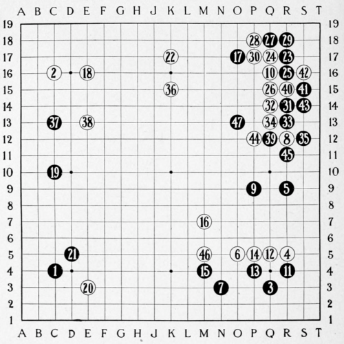Smith (1908) The Game of Go Plate 32.png