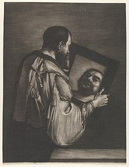 Socrates Looking in a Mirror MET DP836598
