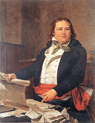 Léger-Félicité Sonthonax - Late 18th-century oil painting portrait of Sonthonax