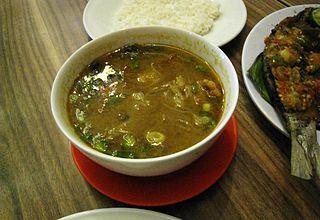 Sop saudara Indonesia traditional buffalo soup