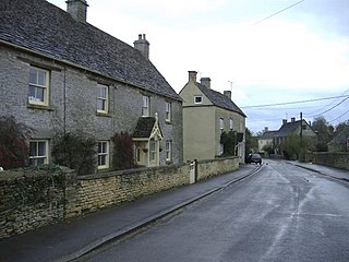 Sopworth village in the United Kingdom