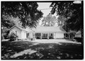 South (rear) elevation - Beau Fort, 4055 State Highway 494, Natchez, Natchitoches Parish, LA HABS LA,35-NACHE,1-12.tif