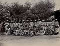 South Africa; a group of armed Boer soldiers. 1896. Wellcome V0037978.jpg
