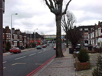 South Circular Road, London - Image: South Circular Road geograph.org.uk 51142