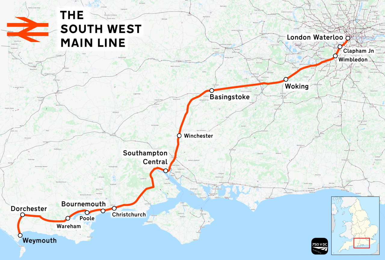 south western main line map File South Western Main Line Png Wikimedia Commons south western main line map