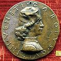 Sperandio savelli, medaglia di carlo querini di venezia, 1472.JPG