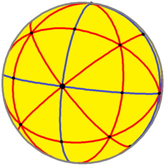 Disdyakis dodecahedron - Spherical disdyakis dodecahedron