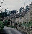 Spinsters and Weavers Cottages, Castle Combe, 1962 - geograph.org.uk - 1241432.jpg
