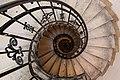 Spiral stairs in Saint Istvan Basilika.jpg