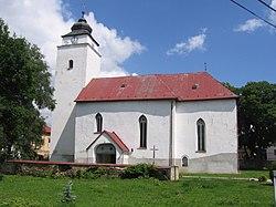 St. Andreas church Velky Slavkov 2017-07-16.jpg