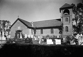 St. James Church (Monkton, Maryland) - Image: St. James Church, Monkton HABS1
