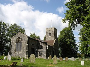 Copdock - Image: St. Peter's, Copdock geograph.org.uk 1309447