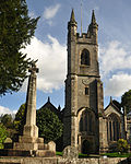St Andrew's Church and Cross, Buckland Monachorum.jpg
