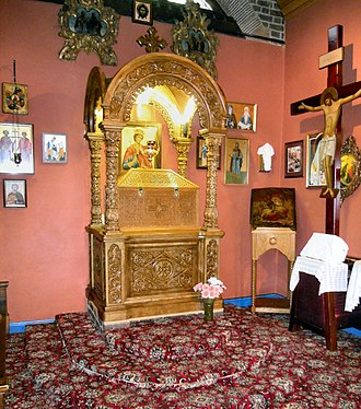 Church of St. Edward the Martyr, Brookwood - Image: St Edward the Martyr Shrine Brookwood