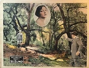 St. Elmo (1923 American film) - Lobby card
