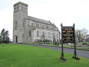 Moneymore - Image: St John's Desertlynn Church of Ireland geograph.org.uk 78225