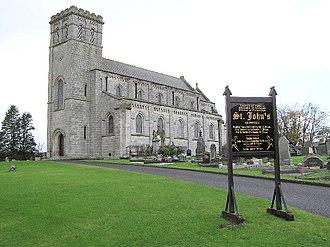 Moneymore - Image: St John's Desertlynn Church of Ireland geograph.org.uk 78225