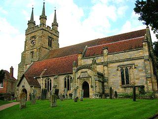 St John the Baptist, Penshurst Church in United Kingdom