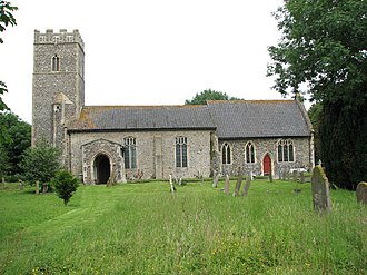 Tivetshall St Margaret - Image: St Margaret's church geograph.org.uk 1366633