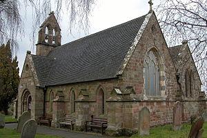 Elmbridge, Worcestershire - Image: St Mary's church, Elmbridge