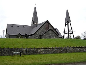 Trillick - Image: St Mc Cartan's RC Church, Trillick geograph.org.uk 326228