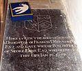 St Peter, Stoke Lyne, Oxon - Ledger slab - geograph.org.uk - 1634668.jpg