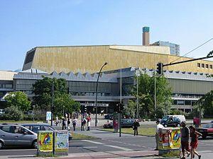 Kulturforum - Berlin State Library, designed by Hans Scharoun