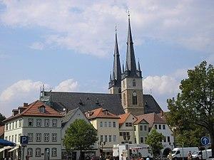 Saalfeld - St John's Church