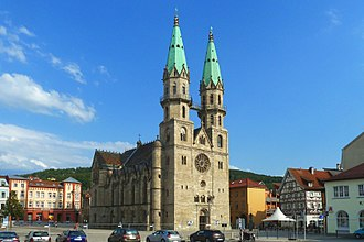 Meiningen - city church (protestant)