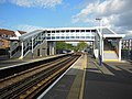 Staines railway station new footbridge.jpg