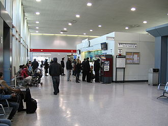 Stamford Transportation Center - The station concourse.