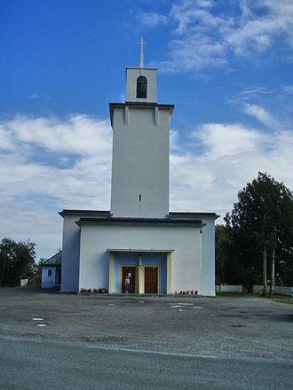 Stamsund Church - View of the church