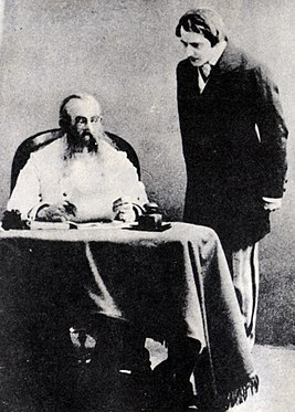 Stanislavski and Kachalov in Ostrovsky's Enough Stupidity in Every Wise Man 1910.jpg