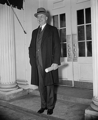 Stanley Forman Reed - Justice Reed having received his commission to the court (January 27, 1938)