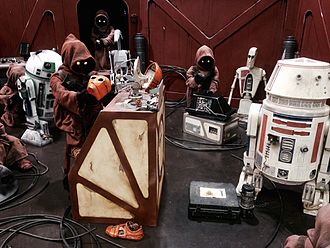 Science-fiction fandom - Image: Star Wars Celebration 2015 Jawas & Droids (17833161638)